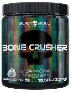 BONE CRUSHER (300G) - BLACK SKULL BY EDUARDO CORRÊA