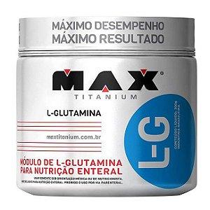 L-Glutamina - 300g - Max Titanium