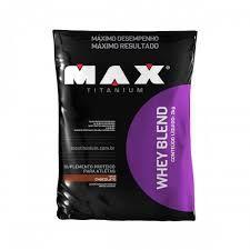 WHEY BLEND REFIL (2KG) - MAX TITANIUM