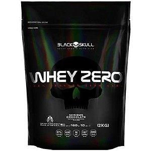 Whey Zero 100% Isolado (2kg) - Refil - Black Skull