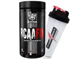 Bcaa Fix 400 Tabletes Darkess + Coqueteleira