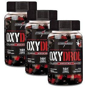 Combo 3x Oxydrol 120 Caps Integralmédica