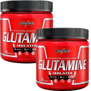 Kit 2x Glutamine Isolates - 300g - Integralmédica Powder