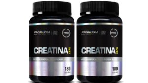 Kit 2x Creatina Pura 180 Cápsula Probiotica