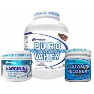 Puro Performance Whey 2kg + Glutamina + L-Arginine - Performance Nutrition