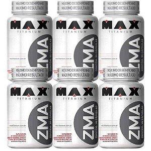 Combo 6x Zma Testosterona - 90 Capsulas Max