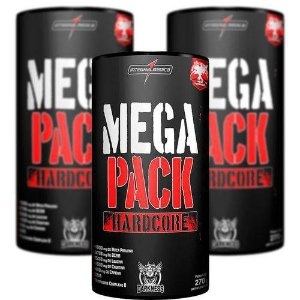 Kit 3x Mega Pack Hardcore (30 Packs) Integralmédica