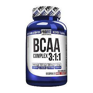 Bcaa Complex 3:1:1 - 60 Cápsulas - Profit Laboratórios