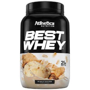 Best Whey - 900g - Atlhetica - Amendoim