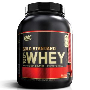 Whey Gold 100% 5lbs (2,27kg) Morango - Optimum Nutrition
