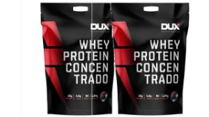 2 X Whey Protein Concentrado - 1800g - Dux Nutrition