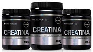 Combo 3x creatina Pura 100g Probiótica - Promoção!