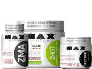 Ultimate 2hot Creatina Zma  - Max Titanium -