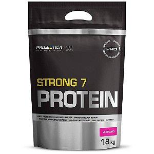 Pro Strong 7 Protein - 1,8kg - Probiótica - morango