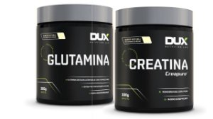 Glutamina 300g + Creatina 300g - Dux