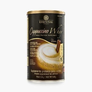Cappuccino Whey - 448g Cappuccino - Essential Nutrition