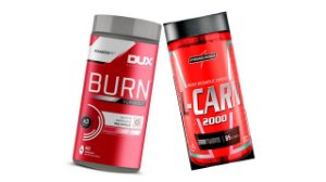KIT EMAGRECIMENTO BURN SUPERCUT 60 CAPS + L-CARNITINA 120 CA