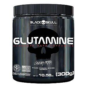 Glutamina Caveira Preta (300g) - Black Skull