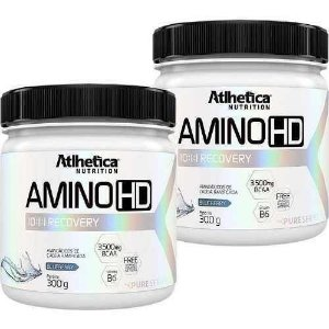 Kit 2 Amino Hd 10:1:1 - 300g - Atlhetica Nutrition