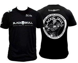 Camiseta Bope - Dry Fit - Tamanho G - Black Skull