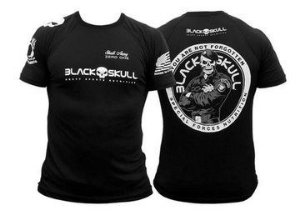 Camiseta Bope - Dry Fit - Tamanho EXG - Black Skull