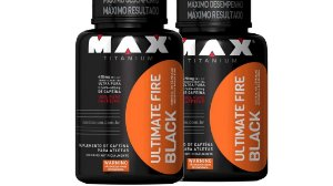 2XTermogenico ultimate Fire Black 120 CáP MAX TIT