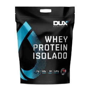 Whey Protein Isolado Chocolate 1.8kg Pouch Dux Nutrition