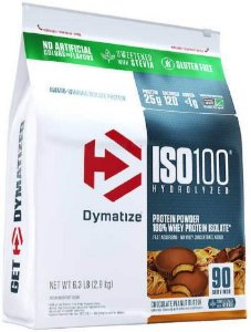 ISO 100 Chocolate Peanut Butter 100% HYDROLYZED STEVIA 2.9KG