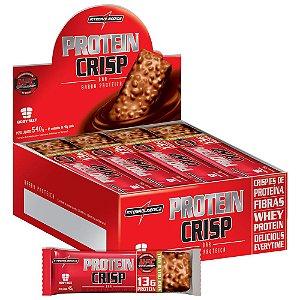 Protein Crisp Bar 12un IntegralMédica - Barra de Proteína