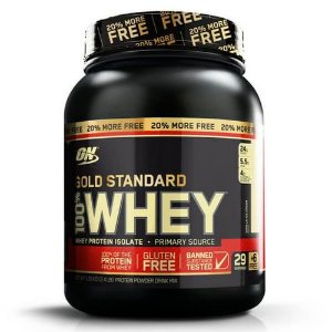Whey Gold Standard 20 Free (2,4Lbs/1090g) -Optimum Nutrition