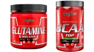 Glutamina 300gr + BCAA top 120 capsulas - Integralmédica