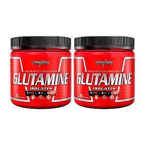 2x Glutamina ( Glutamine Isolates ) 300gr Cada - Integralmed