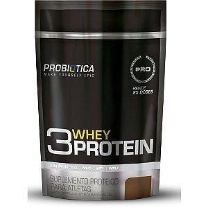 3w Whey Protein Refil 825g Probiótica