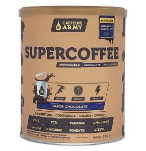 SUPER COFFEE CHOCOLATE (220G) - CAFFEINE ARMY