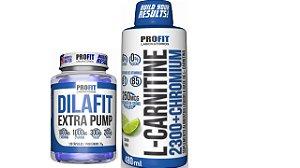 Carnitina 2300+Chromium + Dilafit Extra Pump Profit