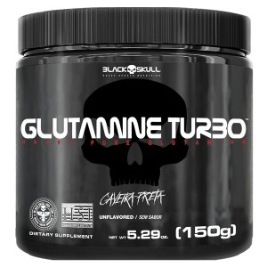 Glutamina Turbo 150G Black Skull