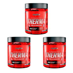Kit 3x Termogênico Therma Pro Hardcore 60 Caps Integralmedica