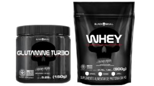 Whey Protein Refil 900g + Glutamina turbo 150g