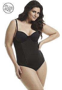 Cinta Modeladora com Bojo Plus-Size Mondress