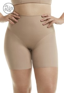 Bermuda Modeladora sem Costura Plus-Size Mondress