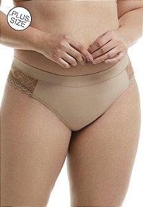 Calcinha com Elástico Largo Embutido Plus-Size Mondress