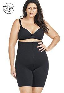 Cinta Modeladora de Perna com Ziper Plus Size Mondress