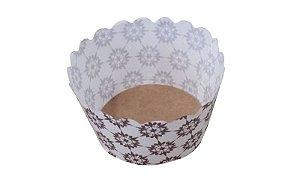 A 05 - Assadeira forneável bolo redondo. Capacidade: 50 gramas. Caixa com 1000 unidades.