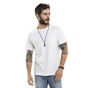 Camiseta Nogah Basic com Bolso Branca