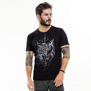 Camiseta Coruja Preta
