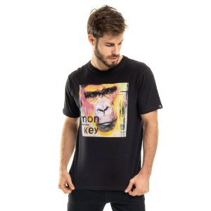 Camiseta Macaco Double Face