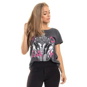 T-shirt Ganesha Double Face Chumbo