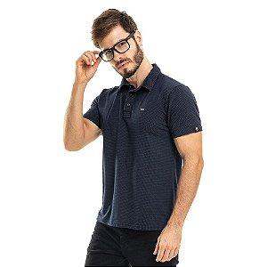 Camisa Polo Poá Marinho