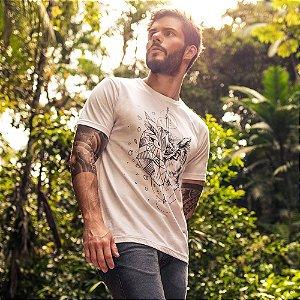 Camiseta Coruja Branca