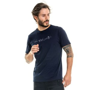 Camiseta Nogah Relax Marinho